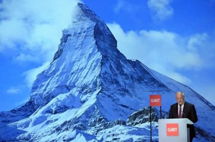 Swiss Federal President Johann N. Schneider-Ammann / source: www.cebit.de