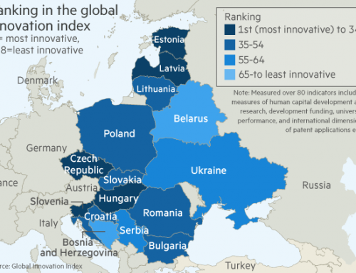 Romania on the 2018 Global Innovation Map